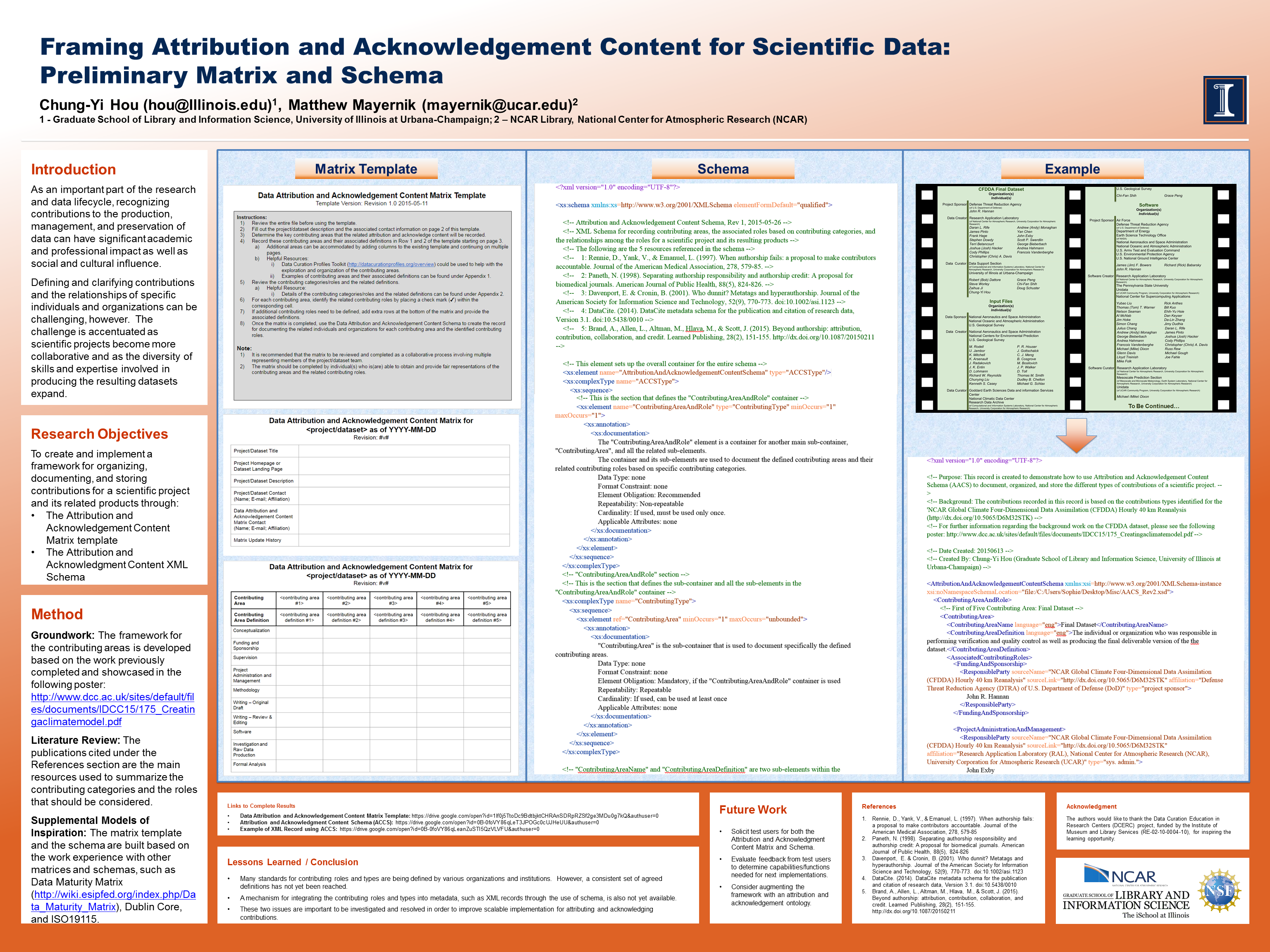 Framing attribution and acknowledgement content for scientific data images sciox Choice Image